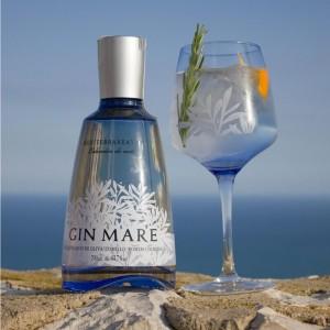 Gin Mare en Restaurante Hierbabuena
