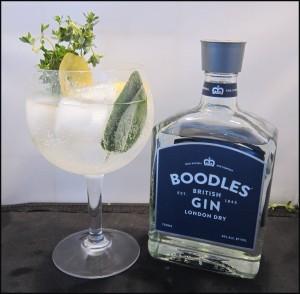 Boodles Gin en Restaurante Hierbabuena