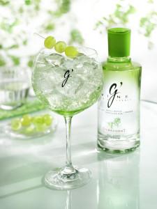 Gvine Gin en Restaurante Hierbabuena